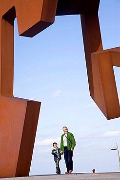 'Construccion vacia', sculpture by Jorge Oteiza, San Sebastian, Guipuzcoa, Euskadi, Spain