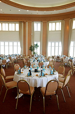 Dining hall, Espace Bellevue, Biarritz, Aquitaine, Pyrenees Atlantiques, France