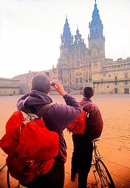 Cathedral, Santiago de Compostela, La Coruna province, Spain