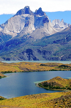 Cuernos del Paine, Torres del Paine National Park, Magallanes XIIth region, Chile.