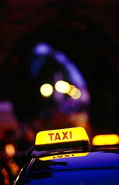 Prague taxi, Czech Republic