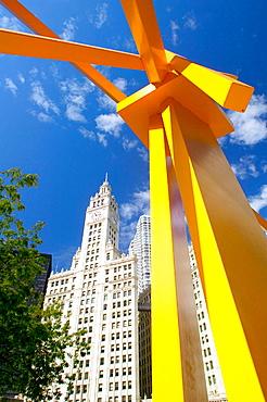 The Wrigley Building, Chicago, Illinois, USA