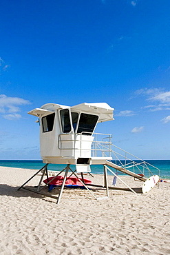 Fort Lauderdale Beach / Life Guard Shack, Fort Lauderdale, Florida, USA