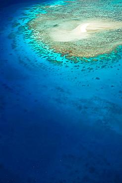 AUSTRALIA - Queensland - NORTH COAST - Cairns Area: The Great Barrier Reef -  Aerial View of Sudbury Reef