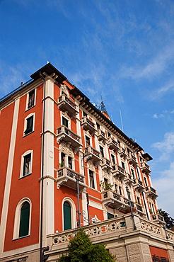 Italy, Lombardy, Lakes Region, Lake Como, Brunate, mountainside villa