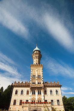 Italy, Piedmont, Lake Orta, Orta San Giulio, Hotel Villa Crespi
