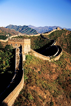 Jinshanling section, Great Wall, China