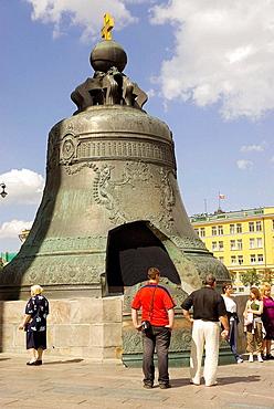 Russia, Moscow, Kremlin, Tsar bell.