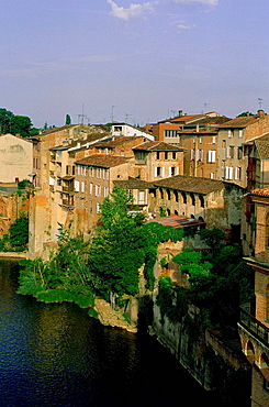 France, Tarn, Pays de Cocagne, Lauragais, Albi and Tarn river
