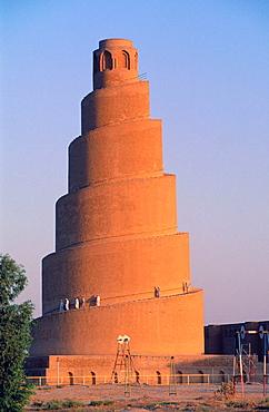 Spiral minaret, Great Mosque, Samarra, Irak