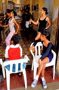 Student house, Salsa school, Santiago de Cuba, Cuba