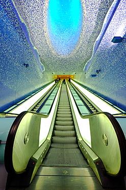Toledo Art Station of Naples Metro, Naples, Campania, Italy, Europe