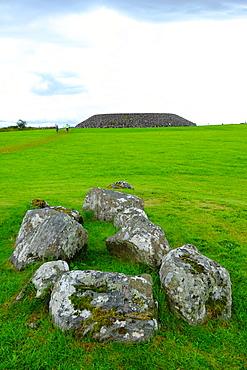 Carrowmore Megalithic Cemetery, County Sligo, Connacht, Republic of Ireland, Europe