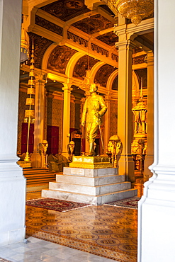 Throne Hall, Royal Palace, Phnom Penh, Cambodia., Indochina, Southeast Asia, Asia