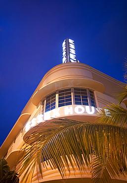Art Deco Essex House, a hotel in Miami Beach, Florida, United States of America, North America