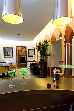 Mirador de Dalt Vila Hotel, Ibiza, Balearic Islands, Spain, Europe.