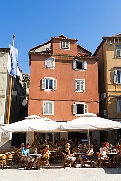 Vocni trg (Fruit Square), Split, region of Dalmatia, Croatia, Europe