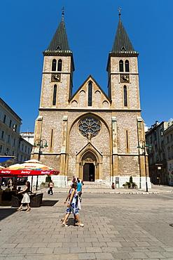 Sarajevo Catholic Church, Sarajevo, Bosnia and Herzegovina, Europe