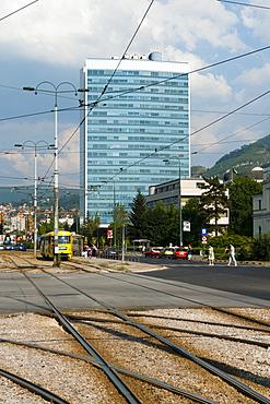 Bosnian Parliament Building, Sarajevo, Bosnia and Herzegovina, Europe