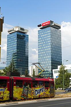 Twin Towers, Sarajevo, Bosnia and Herzegovina, Europe