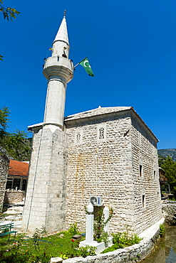 Podgrad mosque, Stolac, Bosnia and Herzegovina, Europe