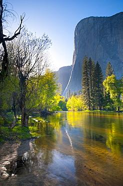 Cathedral Beach, Yosemite National Park, UNESCO World Heritage Site, California, United States of America, North America