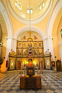 St. Nicholas Church, Old Town (Stari Grad), Kotor, Bay of Kotor, UNESCO World Heritage Site, Montenegro, Europe