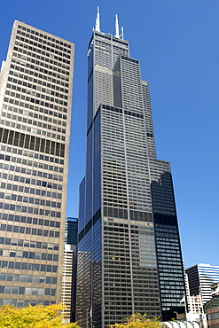 The Willis Tower, 110 storeys high, formerly the Sears Tower, Chicago, Illinois, United States of America, North America