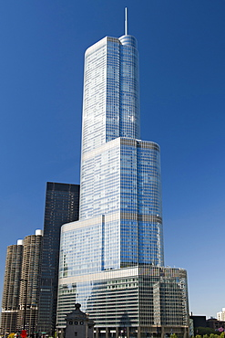 The 90-storey Trump Tower in Chicago, Illinois, United States of America, North America