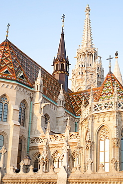 Matthias Church in the Castle District, UNESCO World Heritage Site, Budapest, Hungary, Europe