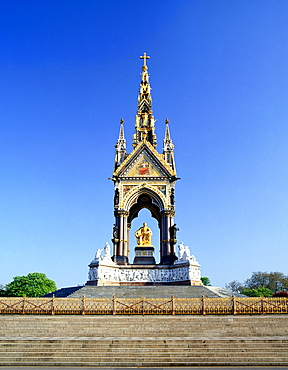 The Albert Memorial, Kensington, London, England, United Kingdom, Europe