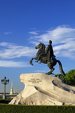 Statue of Peter the Great, Bronze Horseman, St. Petersburg, Russia, Europe