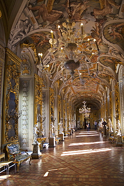 Gallery of Mirrors, Palazzo Doria Pamphilj, Rome, Lazio, Italy, Europe
