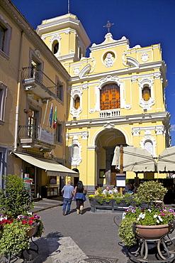 Church of the Madonna del Carmine in Piazzo Tasso in Sorrento, Neapolitan Riviera, Campania, Italy, Europe