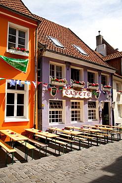 Cavete restaurant, Kreuzstrasse, Kuhviertel area, Muenster, Muensterland, North Rhine-Westfalia, Germany, Europa