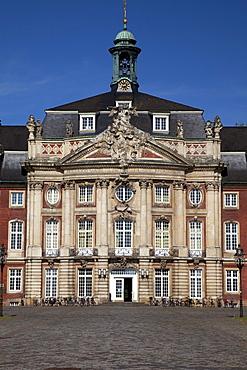 Schloss, Castle, University, Muenster, Muensterland, North Rhine-Westfalia, Germany, Europa
