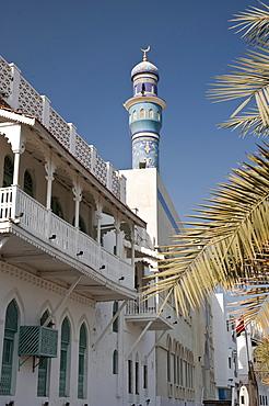 Street scene in Muttrah, Oman, Middle East