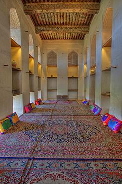 Habitable room, Jabrin Fort, Oman, Middle East