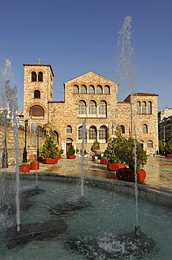 Cathedral of Agios Dimitrios or Agios Demetrios, Thessaloniki, Chalkidiki, Macedonia, Greece, Europe