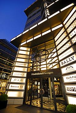 Quartier 206 by architect Henry Cobb, exterior, luxury shopping, Friedrichstrasse 71-74, Berlin Mitte, Berlin, Germany, Europe