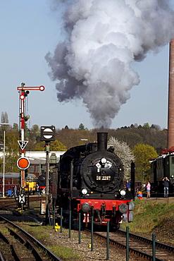 Steam Locomotive Festival, Railway Museum, Dahlhausen, Bochum, North Rhine-Westphalia, Germany, Europe