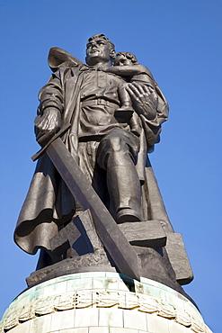 Soviet Memorial, Treptower Park, Berlin, Germany, Europe