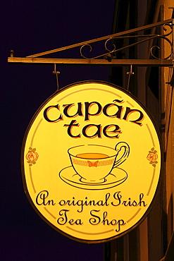 Tea Shop, Kenmare, Ring of Kerry, County Kerry, Ireland, British Isles, Europe
