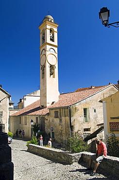 Church in Corte, Niolo, Corsica, France, Europe