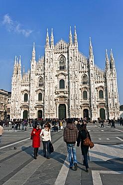 Duomo di Milano, Milan Cathedral, Milan, Lombardy, Italy, Europe