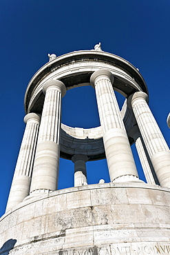 War memorial, designed by Guidi Cirilli, 1932, Passetto Ancona, Marche, Italy, Europe