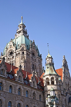New town hall, Hannover, Lower Saxony, Germany, Europe