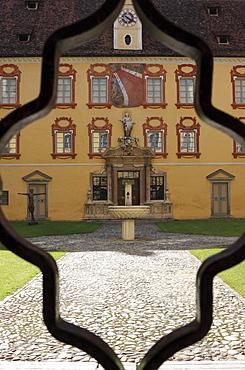 Bishop's palace, seat of the Diocesan Museum, Hofburgplatz square, Brixen, Bressanone, Trentino-Alto Adige, Italy, Europe
