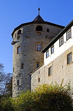 Castle Langenburg an der Jagst, Baden-Wuerttemberg, Germany, Europe