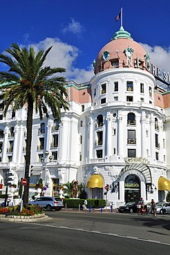 Hotel Negresco, Promenade des Anglais, Nice, Nizza, Cote d'Azur, Alpes Maritimes, Provence, France, Europe